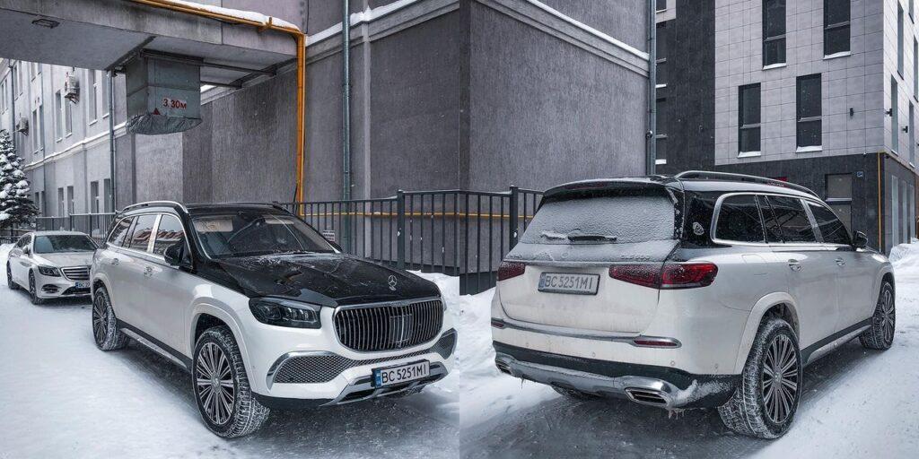 Mercedes-Maybach GLS 600 нового поколения становится бестселлером среди состоятельных украинцев? 1