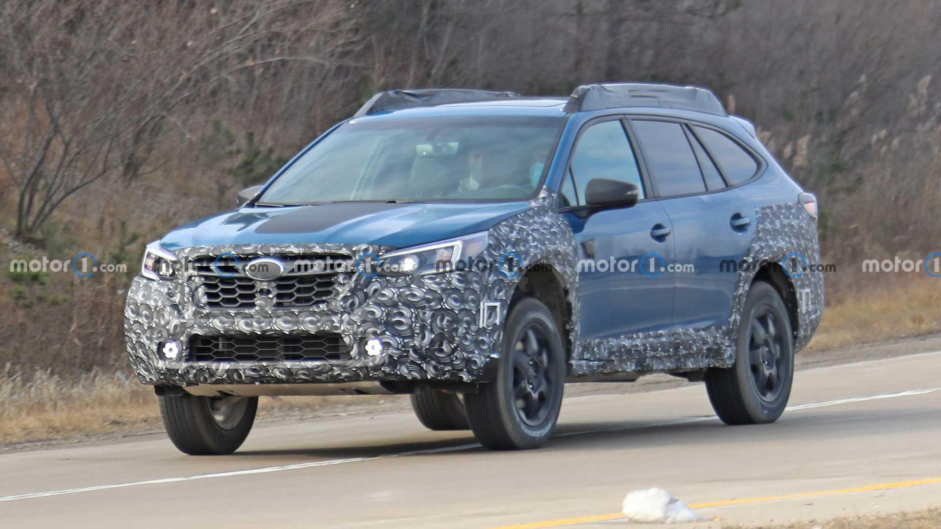 Subaru готовит линейку новых внедорожников 1