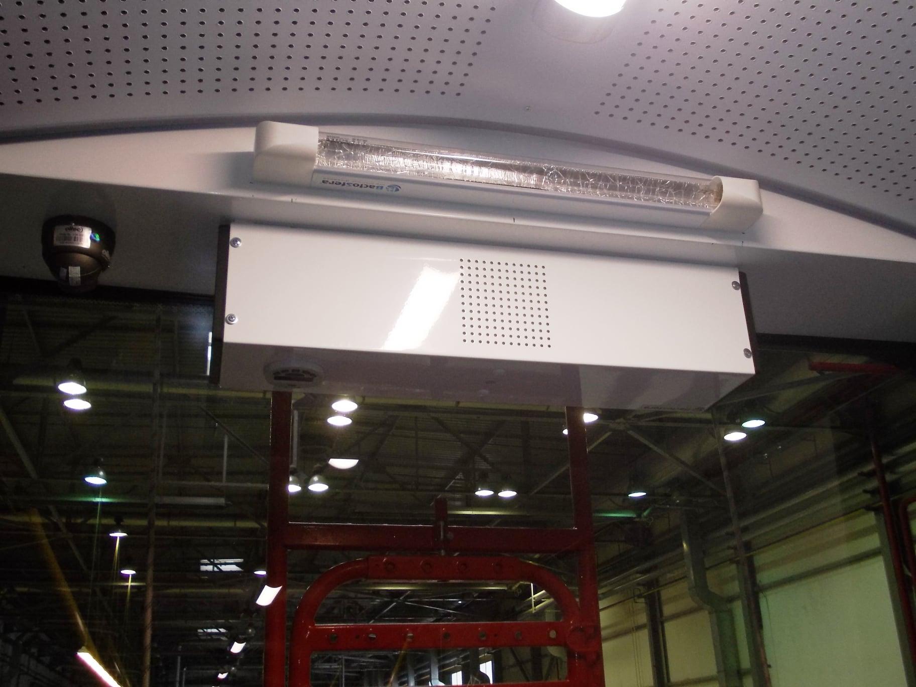 Украинцы создали уникальную систему обеззараживания воздуха в салоне 2
