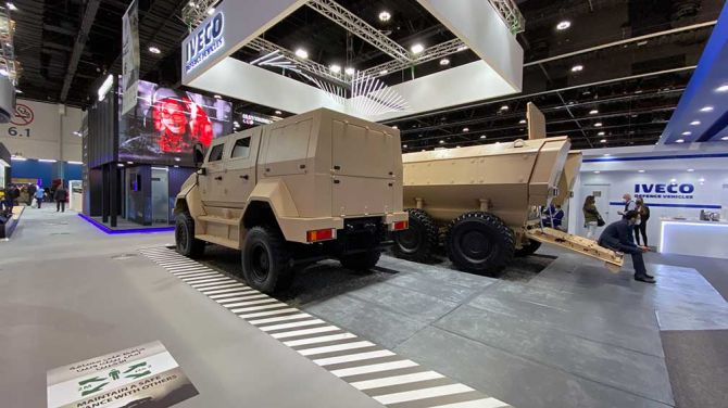 Компания Iveco представила тактический бронеавтомобиль 2
