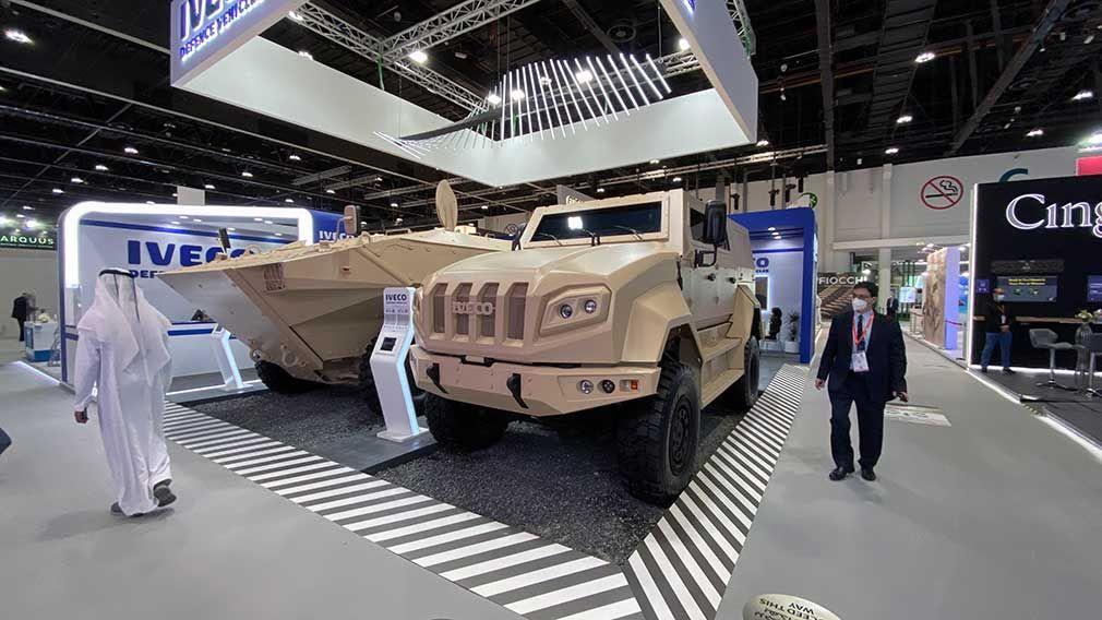 Компания Iveco представила тактический бронеавтомобиль 1