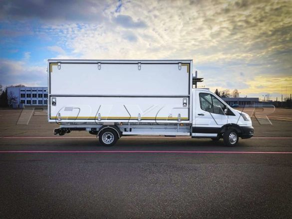 Украинский производитель представил новый фургон  1