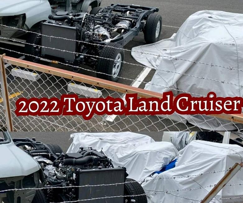 Новый Toyota Land Cruiser 300 впервые показался на фото без камуфляжа 1