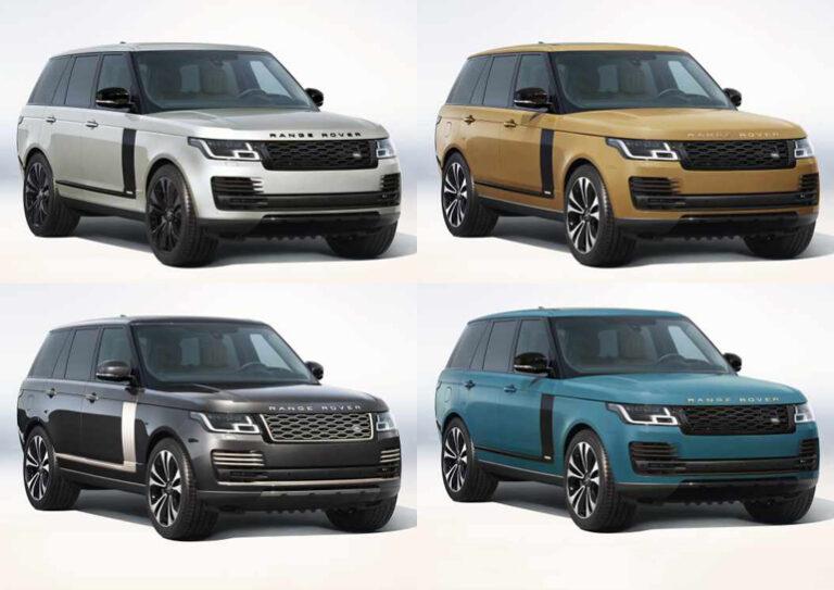 В Украину привезли один из самых эксклюзивных внедорожников Range Rover Fifty 2