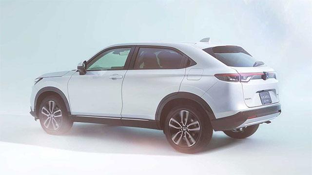 Honda презентовала новое поколение кроссовера HR-V 3
