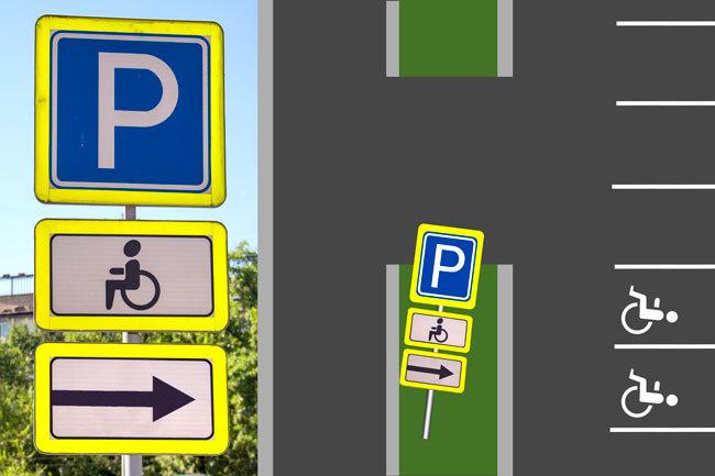 Штрафы за парковку на метах для инвалидов: подробности 1