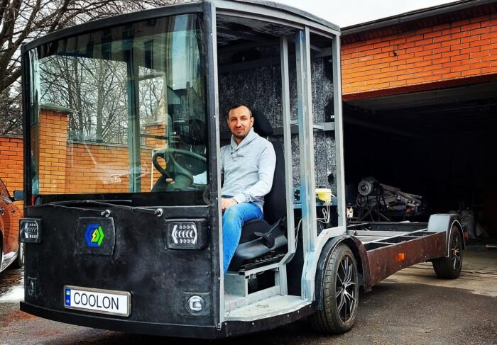 Украинский ответ Tesla: отечественный производитель создал электрический грузовик CoolOn 1