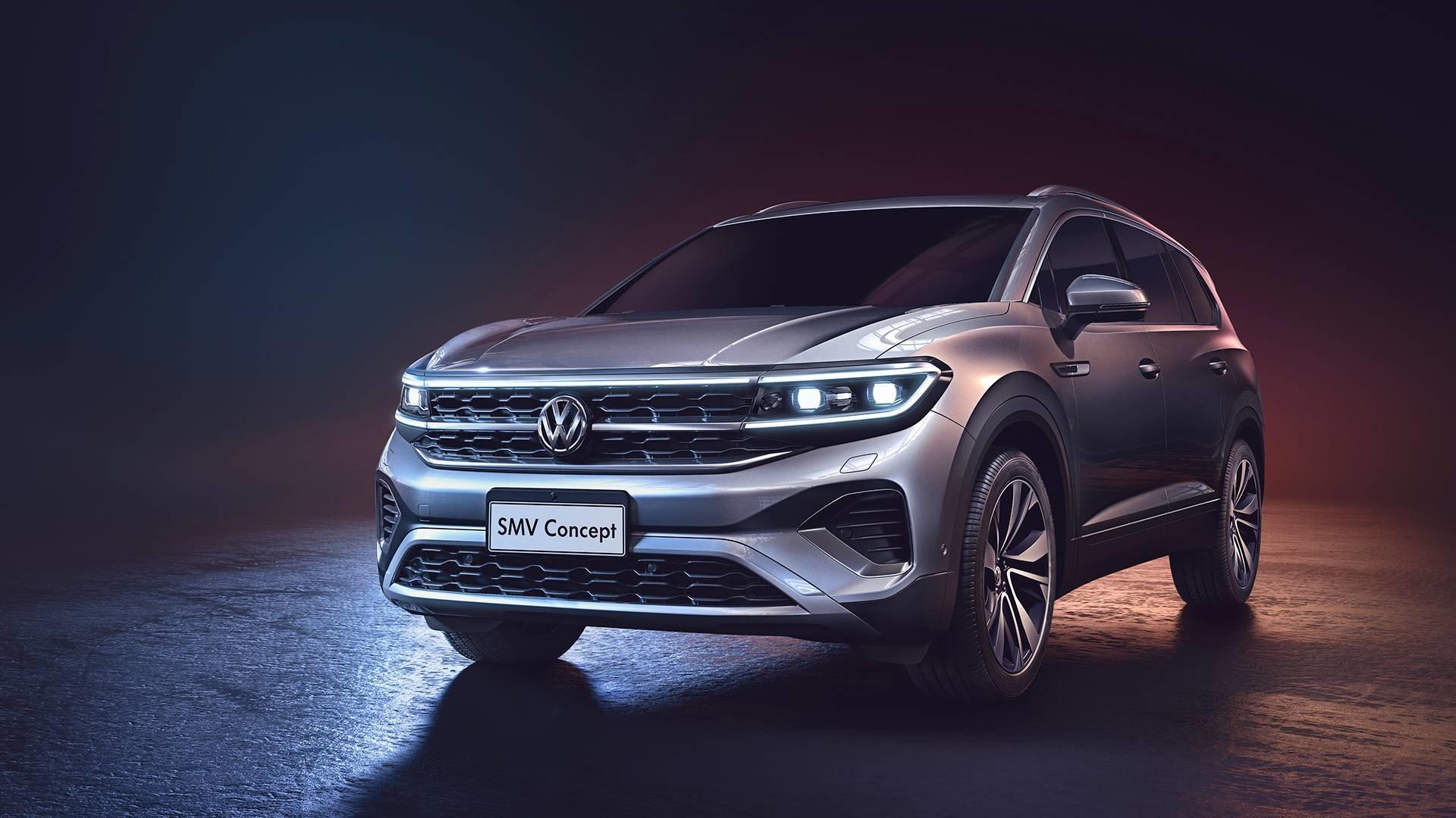 Внедорожник Volkswagen Talagon показали на «живых» фото 3
