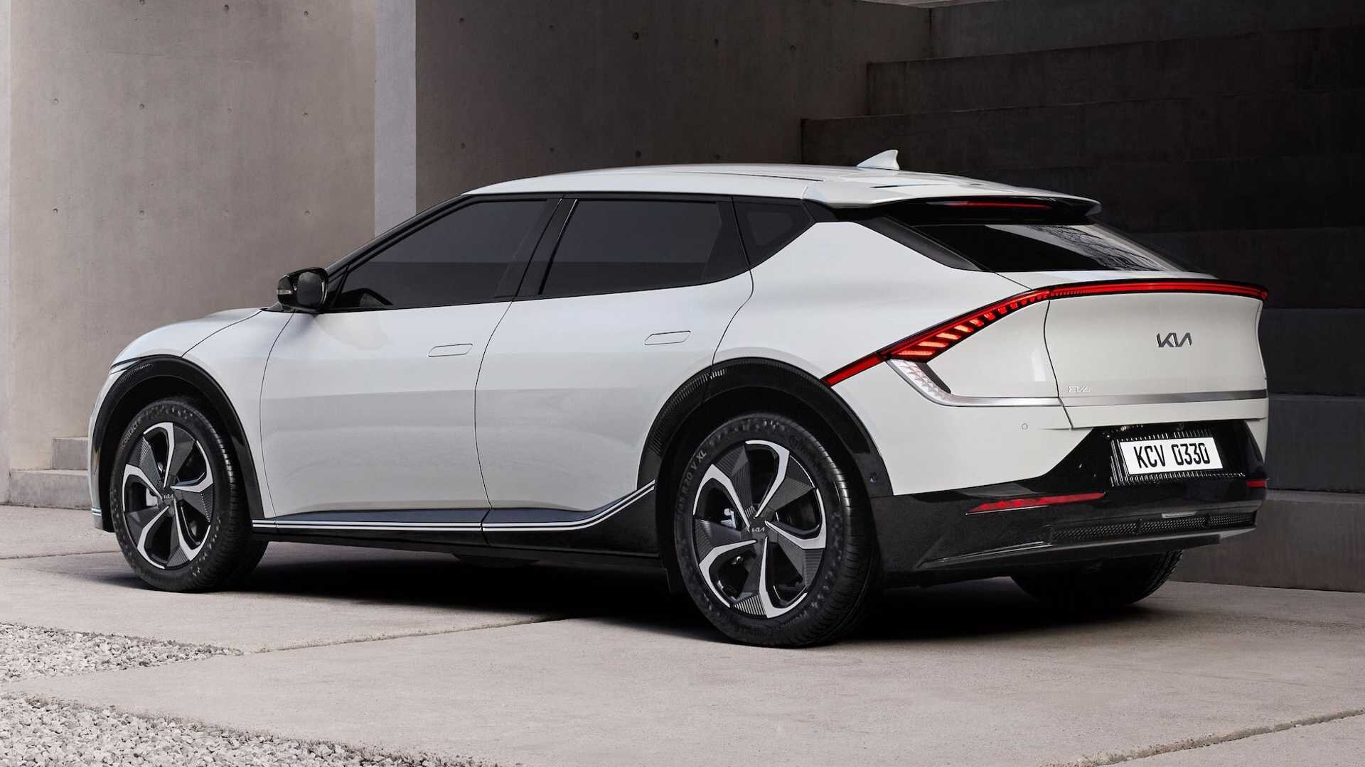 Kia представила самый крутой электрокар компании EV6 4