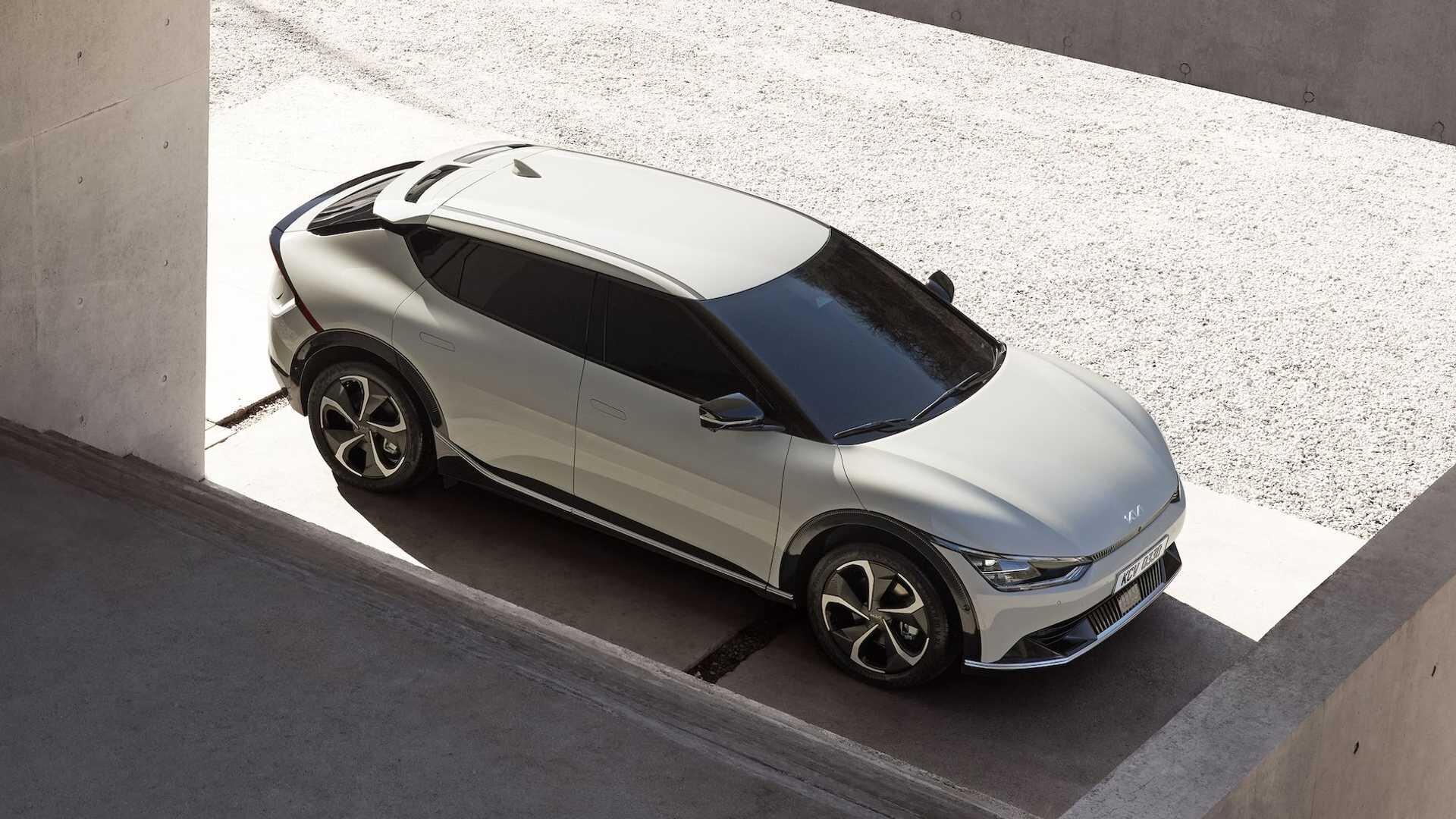 Kia представила самый крутой электрокар компании EV6 2