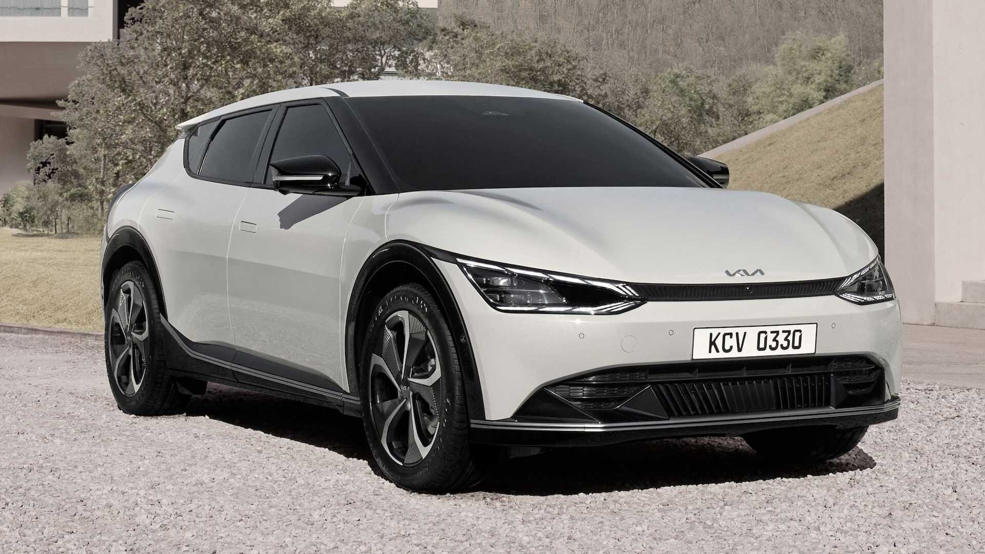 Kia представила самый крутой электрокар компании EV6 1