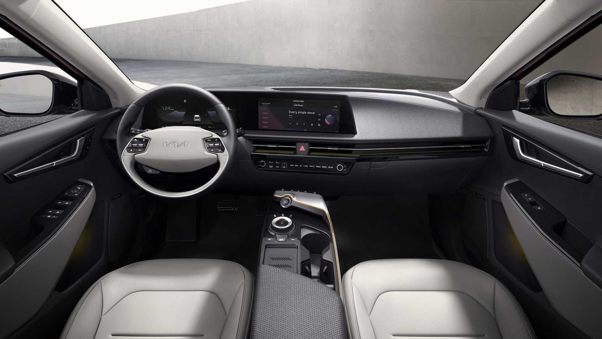 Kia представила самый крутой электрокар компании EV6 3