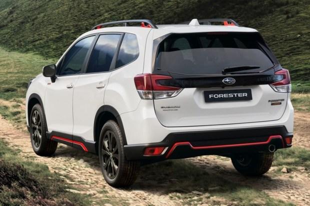 Subaru представила новую версию Forester 5