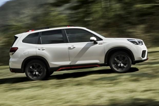 Subaru представила новую версию Forester 3