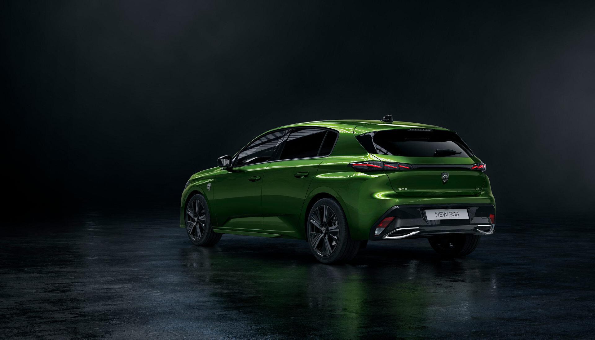 Состоялась мировая премьера нового поколения Peugeot308 4