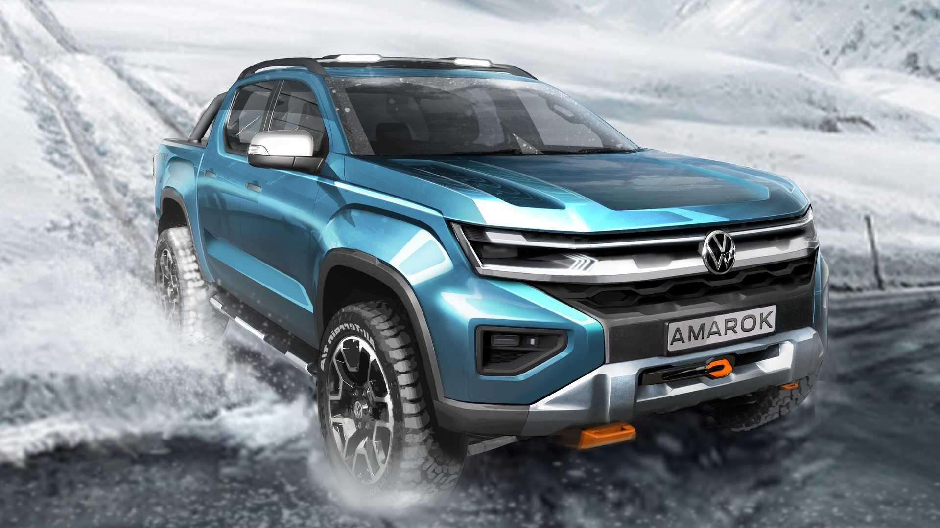 Новый внедорожник Volkswagen показали официально 2