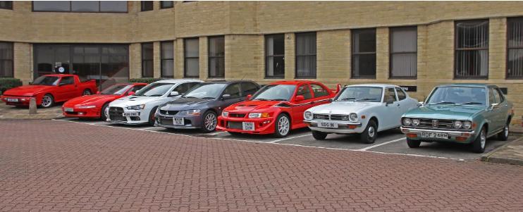 Mitsubishi продаст на аукционе 14 редких моделей 1