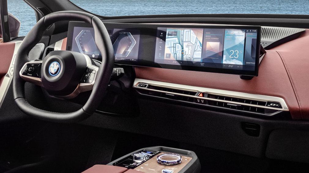 BMW представила новый кроссовер BMW iX 5