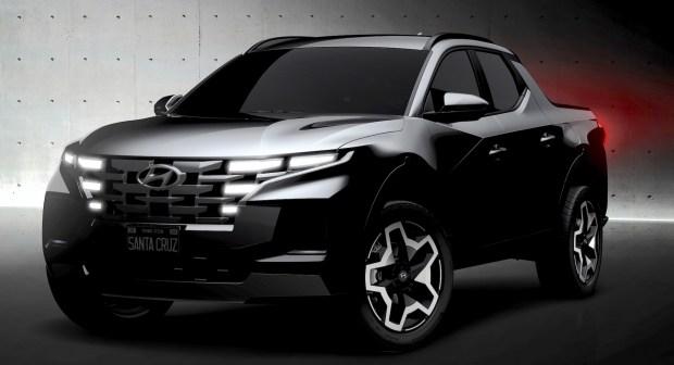 Первые официальные фото пикапа Hyundai Santa Cruz 1