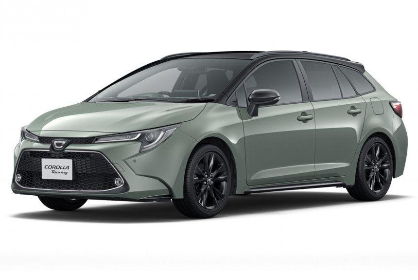 Представлена лимитированная кросс-модификация Toyota Corolla Touring Active Ride 1