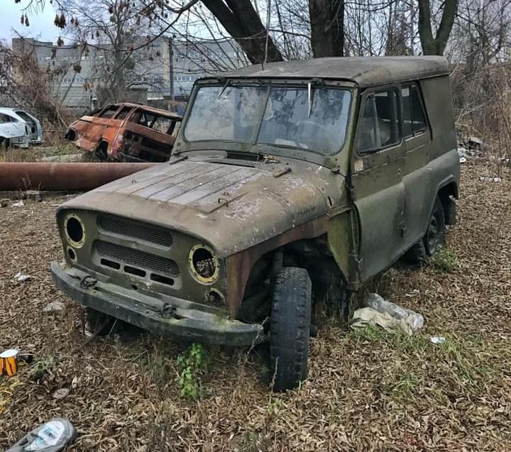 В Киеве обнаружили кладбище ретро-автомобилей 3