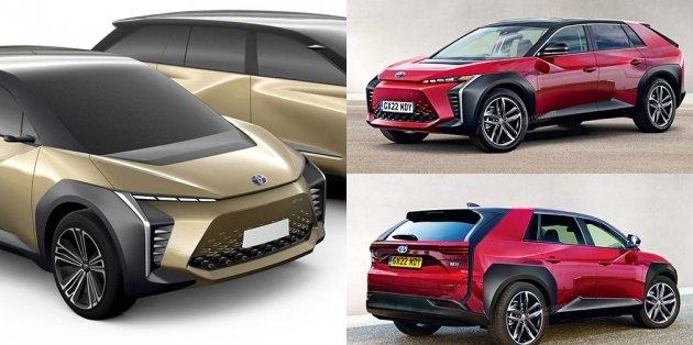 Электрокары Toyota будут выходить под новым брендом 1
