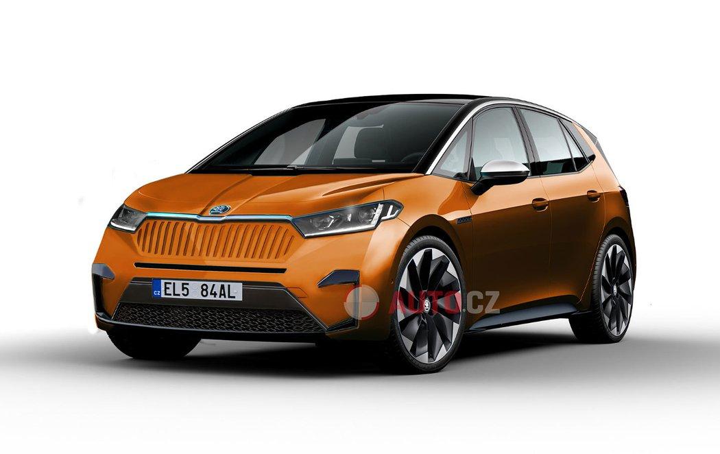 Новый электромобиль Skoda (фото)