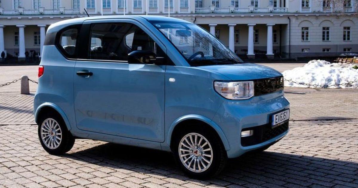 Литовцы представили самый дешевый электромобиль в Европе 1