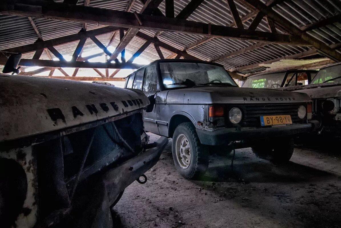 В Нидерландах обнаружили сарай с уникальными Range Rover 1