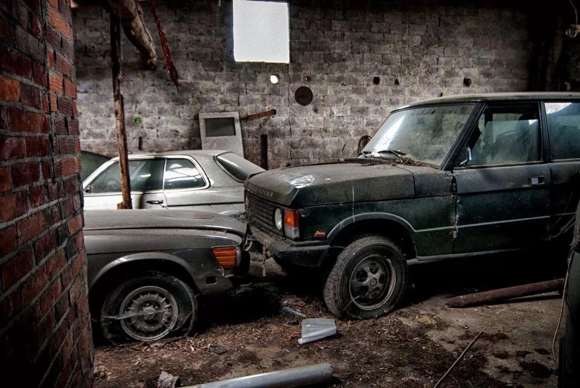 В Нидерландах обнаружили сарай с уникальными Range Rover 2