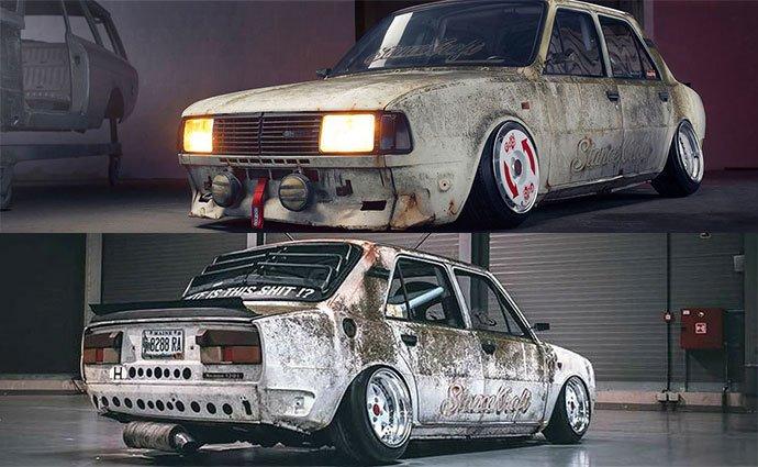 На фото показали самые ржавые автомобили Skoda в мире 2
