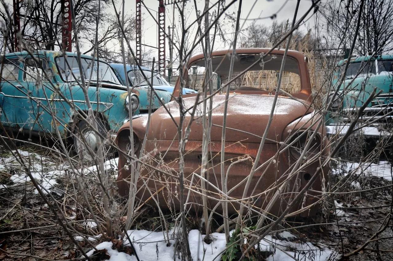 В сети показали коллекцию машин времен СССР – есть и правительственные лимузины (фото) 9