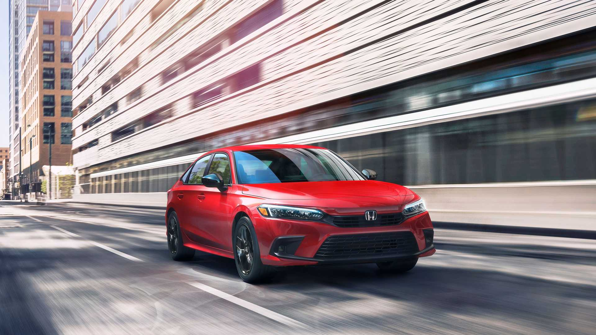 Honda представила седанCivicодиннадцатого поколения 1