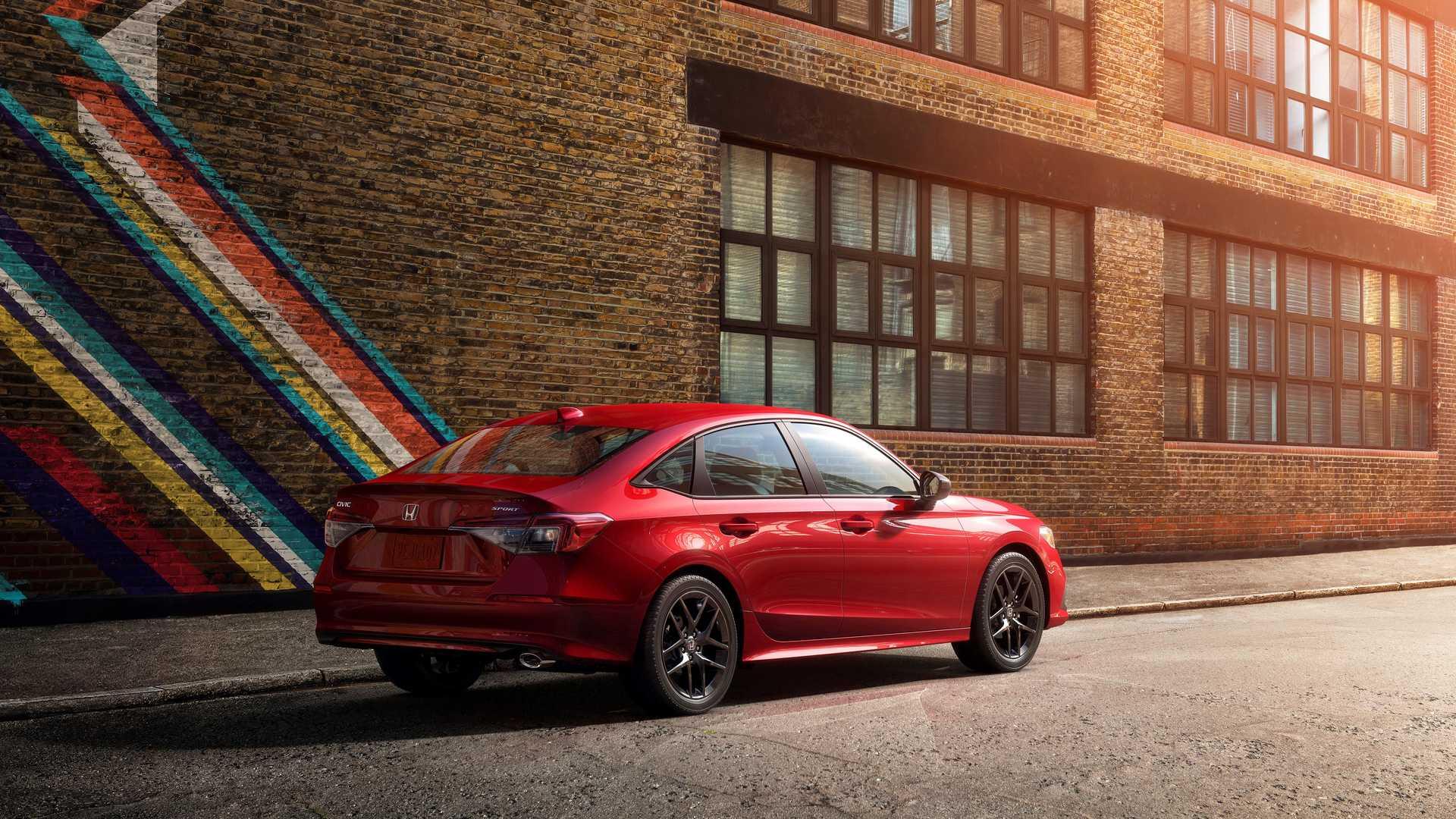 Honda представила седанCivicодиннадцатого поколения 3
