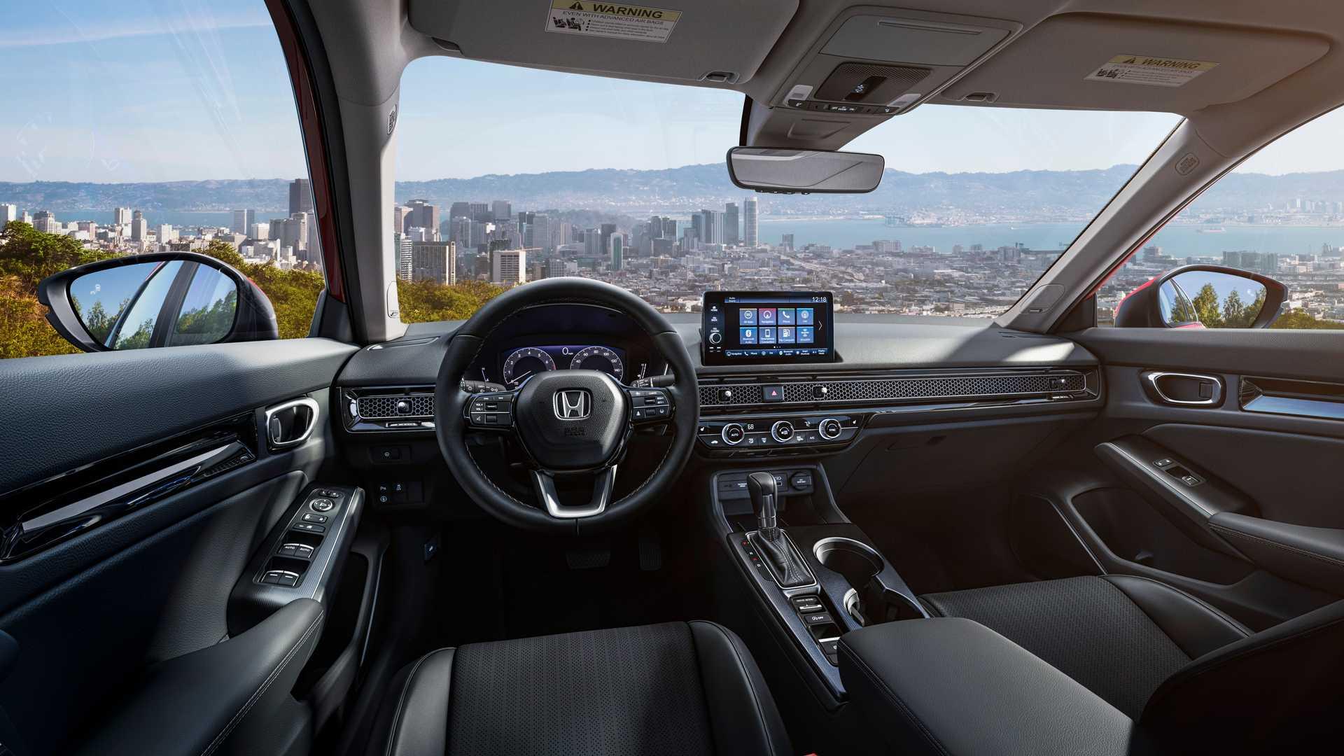 Honda представила седанCivicодиннадцатого поколения 2