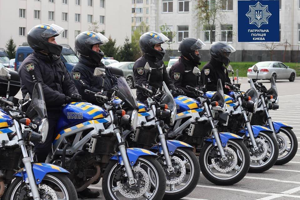 На дороги Украины выезжают мотопатрули 1