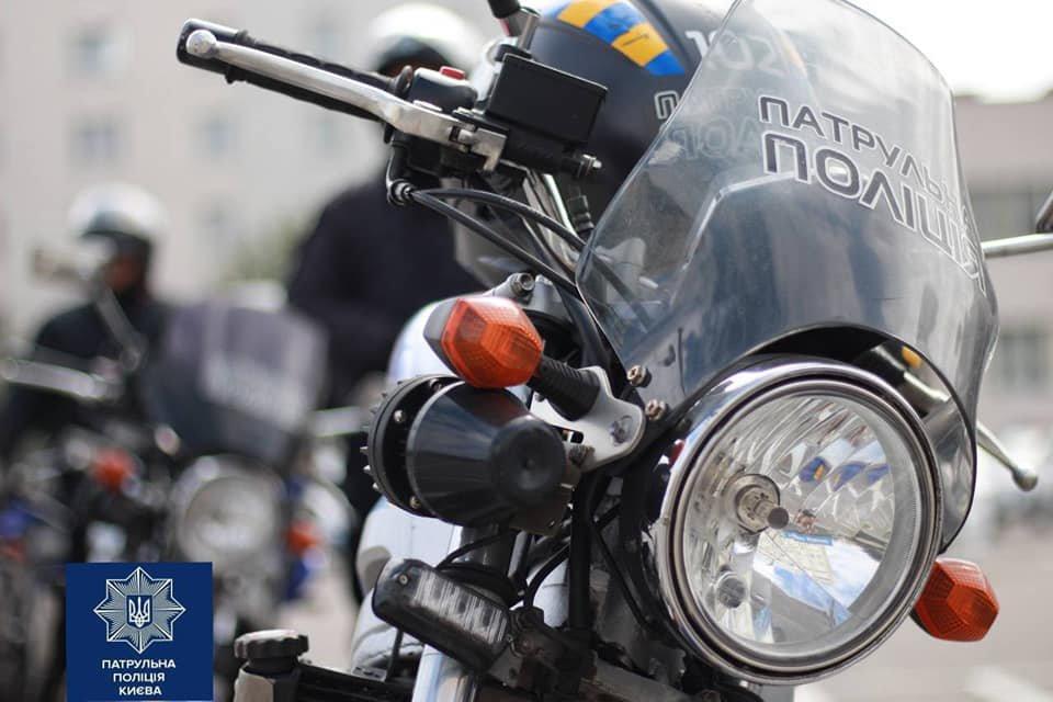 На дороги Украины выезжают мотопатрули 2