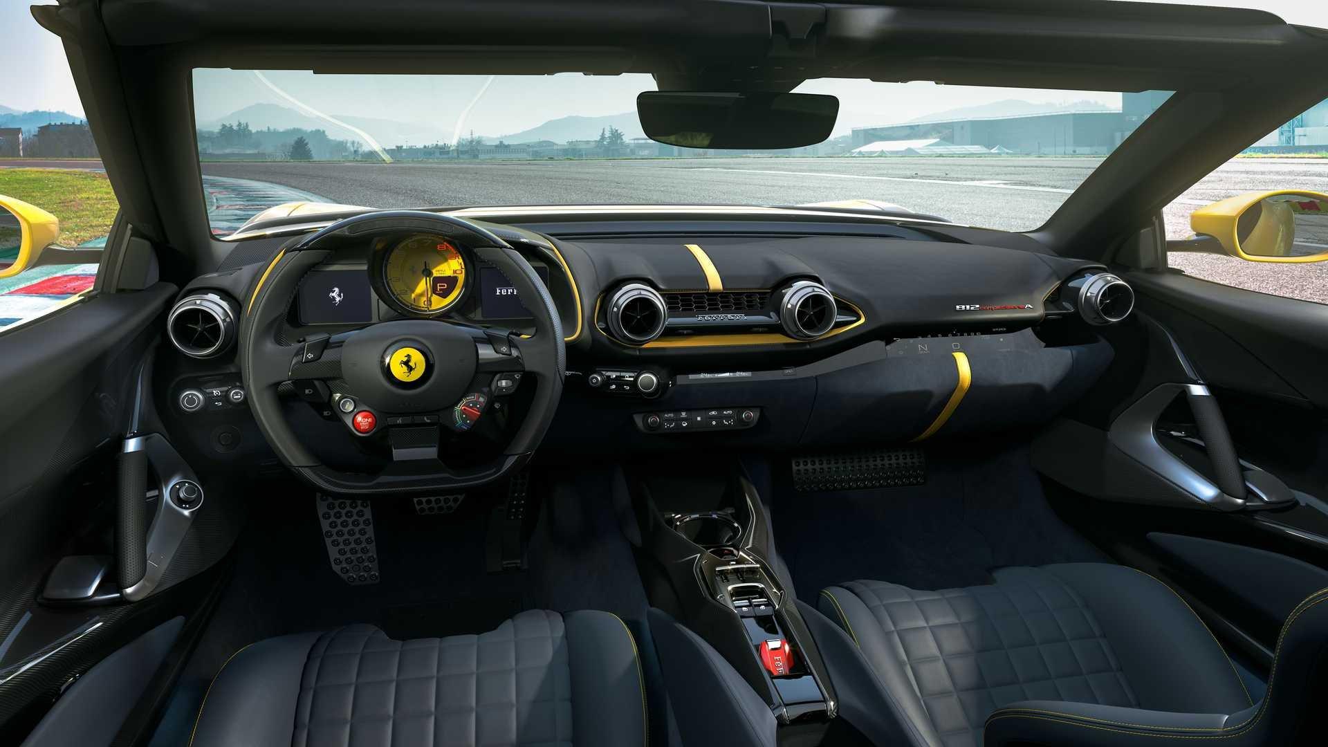 Ferrari представила свой самый мощный дорожный суперкар  2
