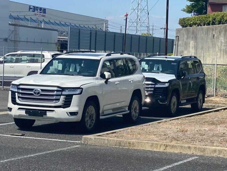 Обнародованы цены на новый Toyota Land Cruiser 2022 1