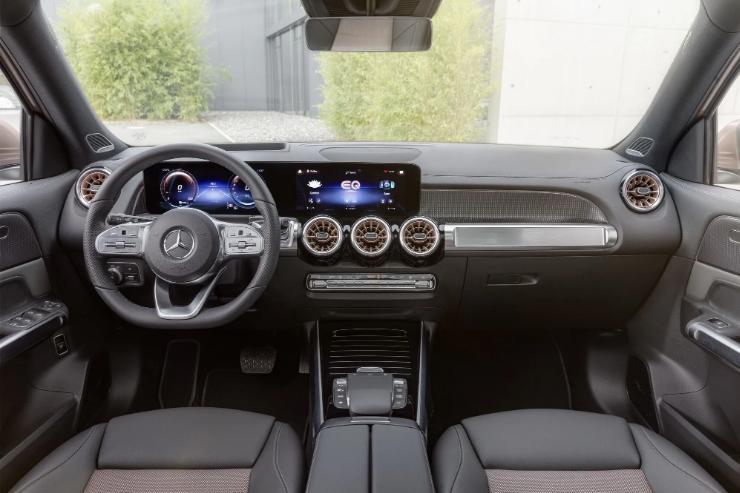 Кроссовер Mercedes EQB 2022 для Европы официально представлен 2