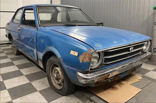 В Украине продают Toyota Corolla с богатой историей всего за 850 долларов 1