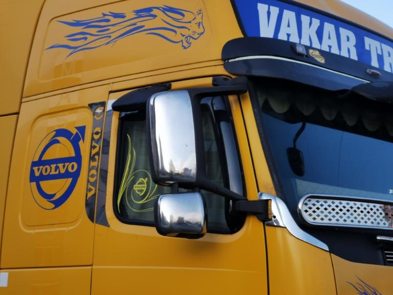 На дорогах Украины заметили тюнингованный тягач (видео) 1