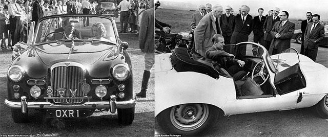 На каких автомобилях ездил принц Филипп Герцог Эдинбургский 2