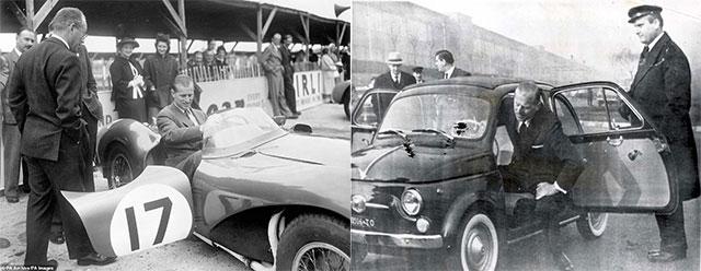 На каких автомобилях ездил принц Филипп Герцог Эдинбургский 3