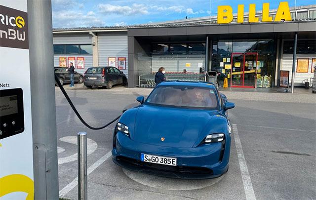 Немец рассказал о муках 550-километровой поездки на электромобиле 1