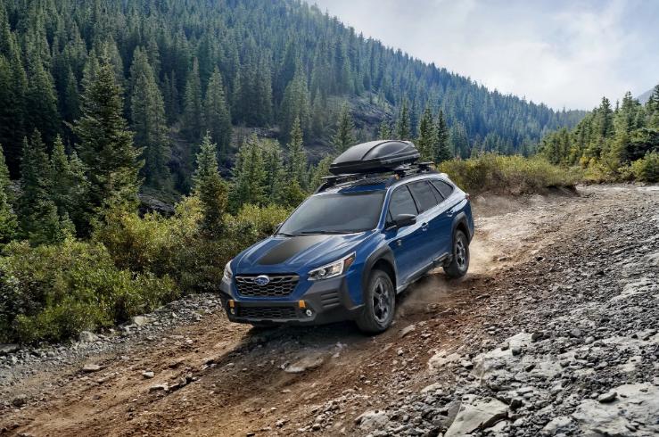 Subaru показала самую внедорожную версию Outback 1