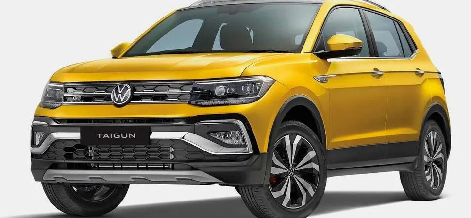 Volkswagenпоказал новый кроссовер Taigun 1