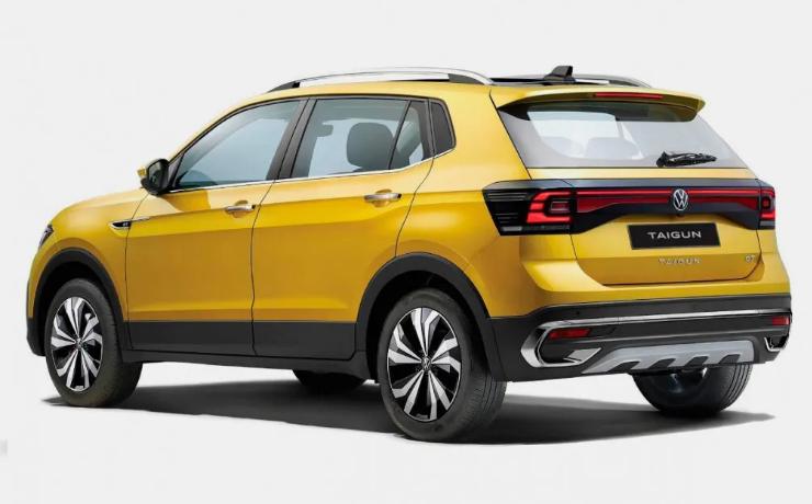 Volkswagenпоказал новый кроссовер Taigun 2