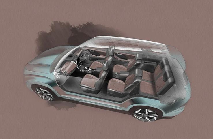 Hyundai представил 7-местный кроссовер Alcazar 2
