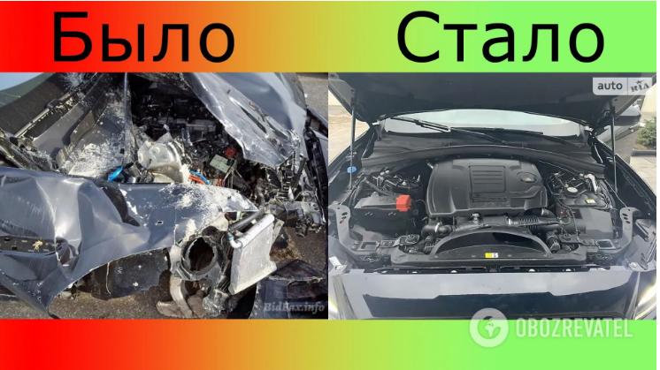 Из металлолома собрали Jaguar F-Pace и продают за 28,5тыс. долларов 5